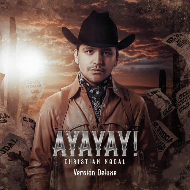Album cover for AYAYAY! (Deluxe) by Christian Nodal