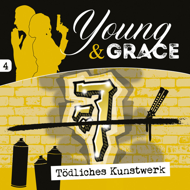 Tödliches Kunstwerk (Young & Grace 4) [Hörspiel] Cover