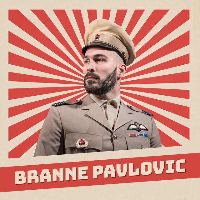 """Branne Pavlovic """"Okänd"""" Komiker"""