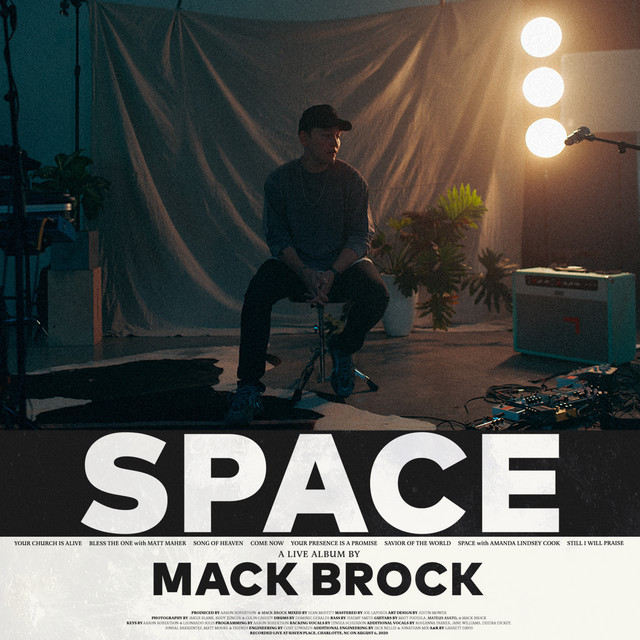 Album cover for SPACE by Mack Brock
