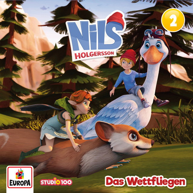 02 - Das Wettfliegen (CGI) Cover