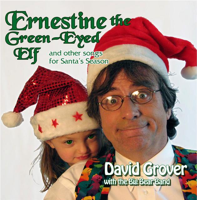 Ernestine The Green Eyed Elf by David Grover