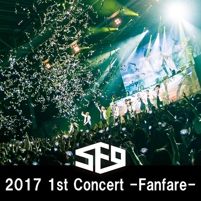 Album cover for Live-2017 1st Concert -Fanfare by SF9