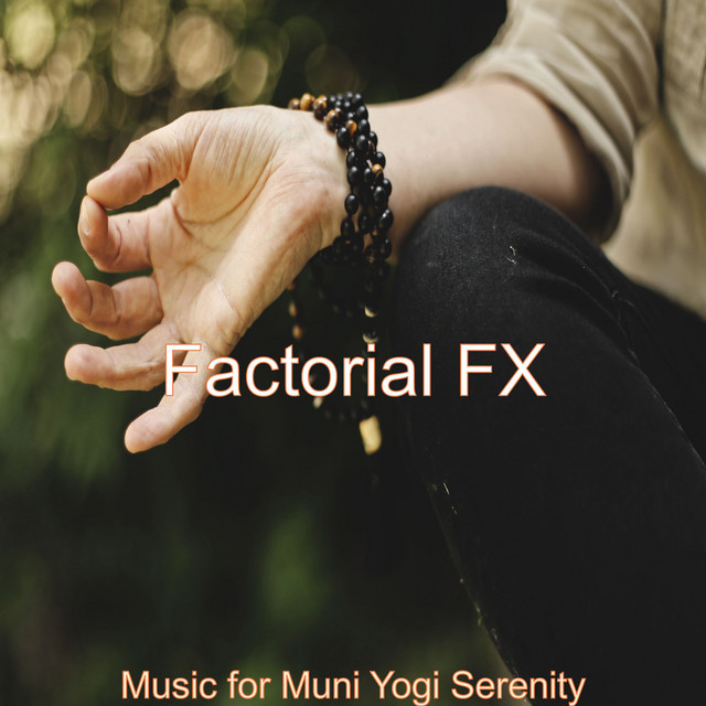 Album cover for Music for Muni Yogi Serenity by Factorial FX