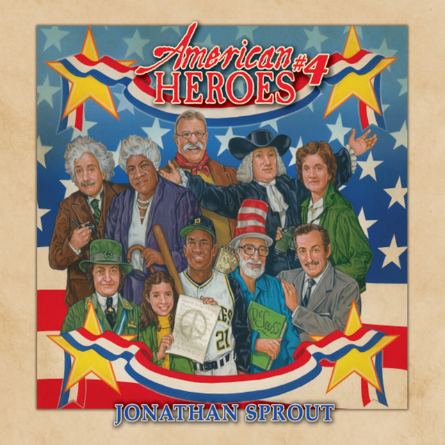 American Heroes #4 by Jonathan Sprout