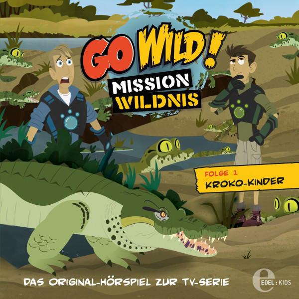 Folge 1: Kroko-Kinder  -  Wal gegen Kalmar (Das Original-Hörspiel zur TV-Serie) Cover