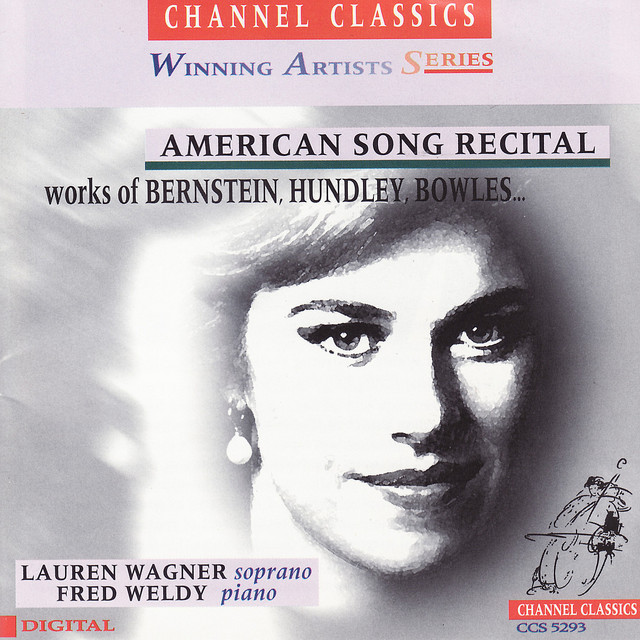 American Song Recital: Works of Bernstein, Hundley, Bowles...