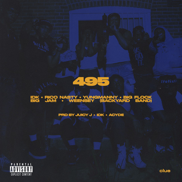 IDK & YungManny - 495 (feat. Rico Nasty, Big Flock, Big JAM & Weensey) cover