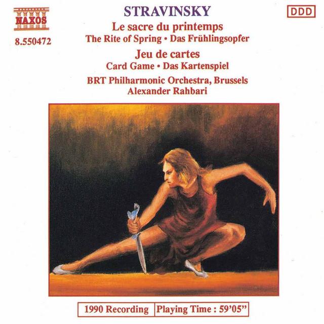 Stravinsky: Sacre Du Printemps (Le) / Jeu De Cartes
