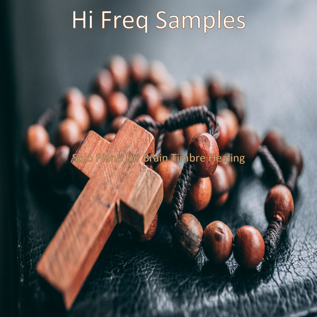 Album cover for Solo Piano for Brain Timbre Healing by Hi Freq Samples