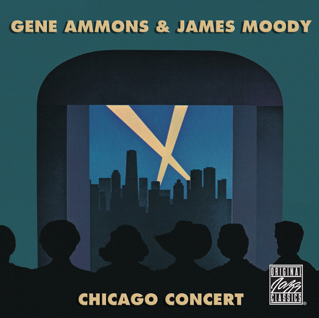 Artwork for C-Jam Blues - live by Gene Ammons