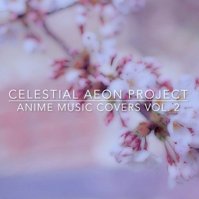 Album cover for Anime Music Covers, Vol. 2 by Celestial Aeon Project