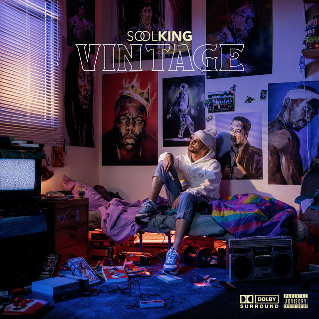 Album cover for Vintage by Soolking