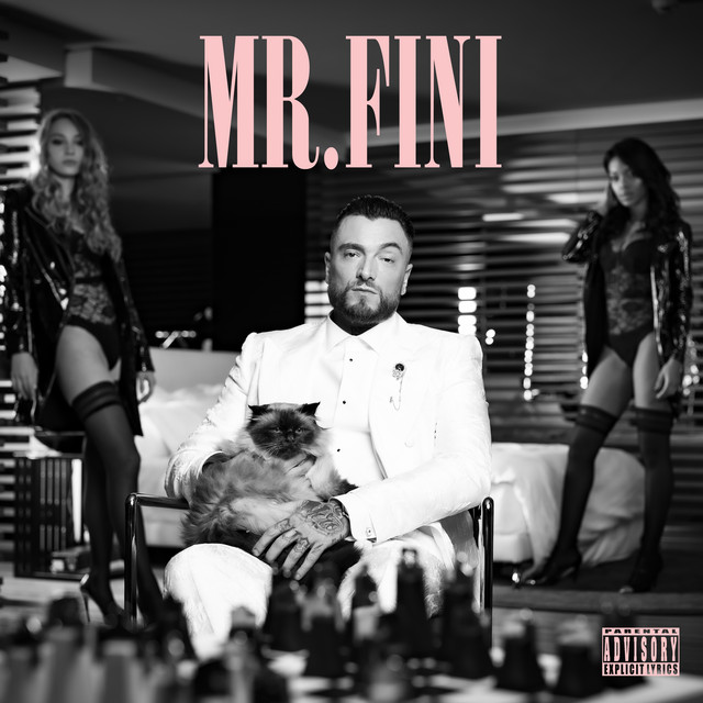 Album cover for Mr. Fini by Guè Pequeno
