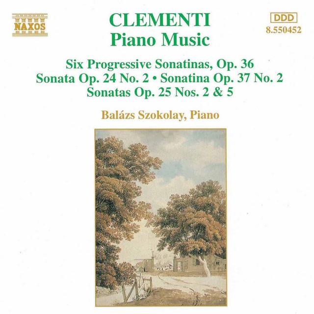 Clementi - Sonatinas Op.36 (piano)