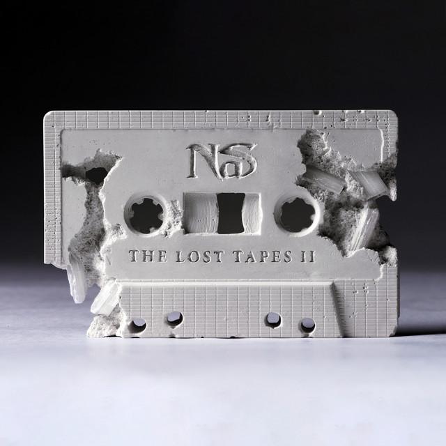 Skivomslag för Nas: The Lost Tapes 2