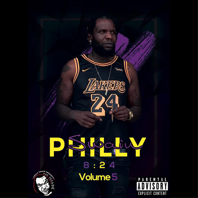 Album cover for 8:24 AM, Vol. 5 by Philly Swain