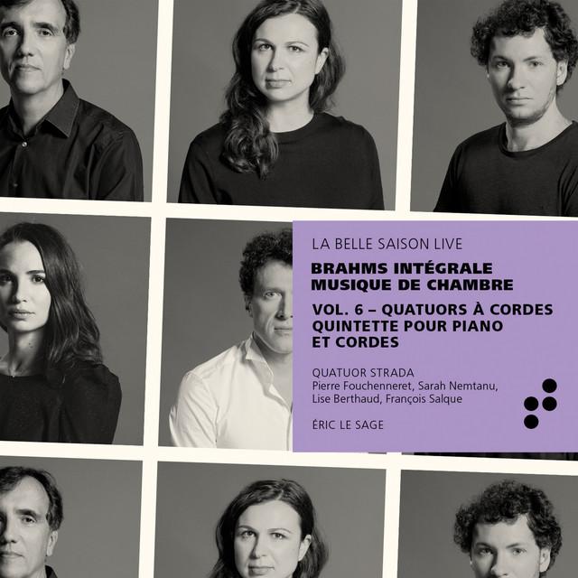 Brahms: Quatuors à cordes, quintette pour piano et cordes (Intégrale musique de chambre), Vol. 6 [Live]