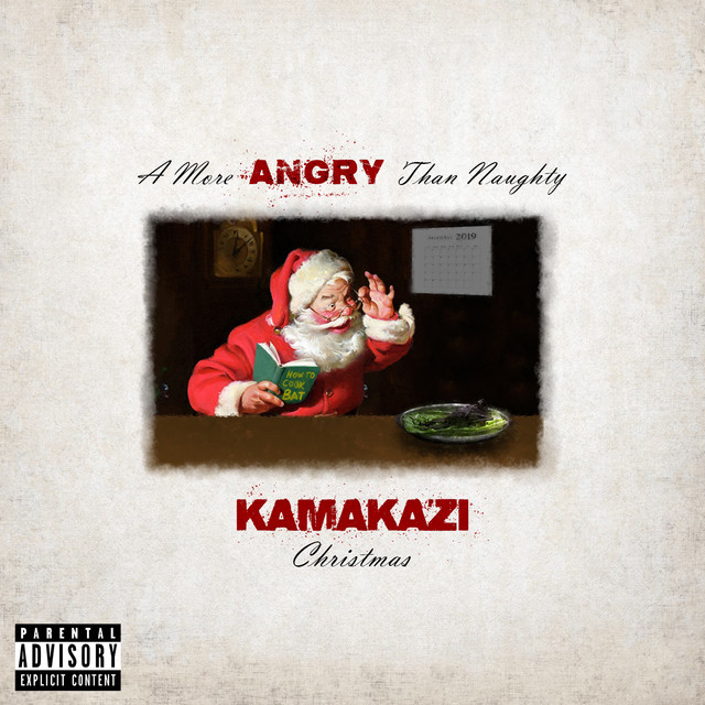 A More Angry Than Naughty Kamakazi Christmas Image