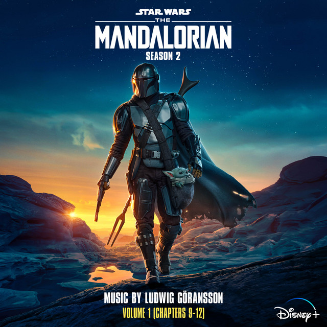 Album cover for The Mandalorian: Season 2 - Vol. 1 (Chapters 9-12) [Original Score] by Ludwig Goransson
