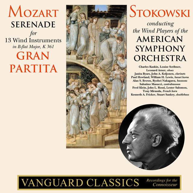 Album cover for Mozart: Serenade No. 10