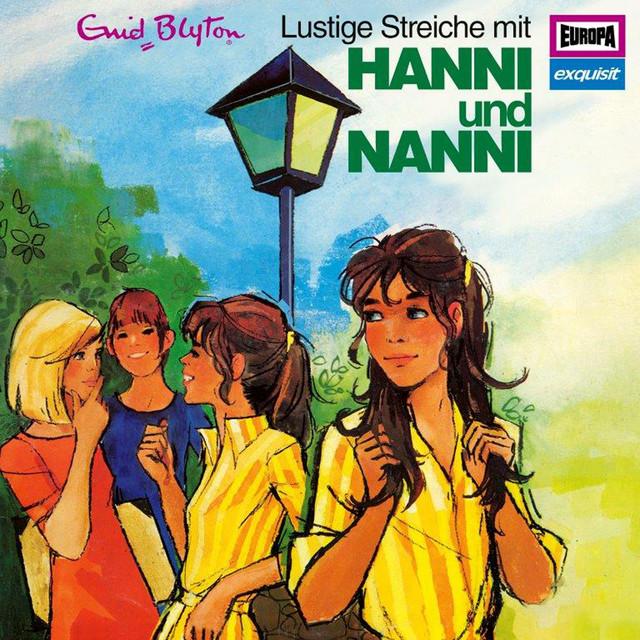 Klassiker 4 - 1973 Lustige Streiche mit Hanni und Nanni Cover