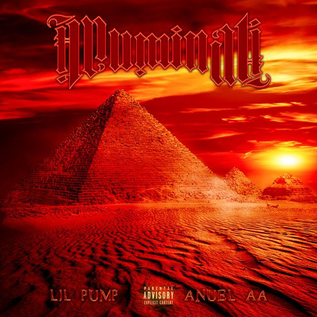 Anuel AA & Lil Pump - Illuminati cover