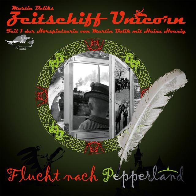Flucht nach Pepperland (Teil 1 der Hörspielserie von Martin Bolik mit Heinz Hoenig) Cover