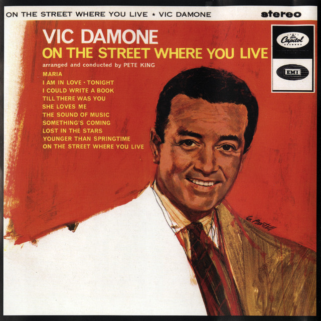 On The Street Where You Live album cover