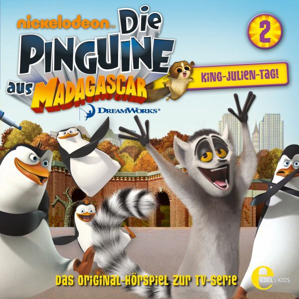 Folge 2: King Julien-Tag (Das Original-Hörspiel zur TV-Serie) Cover