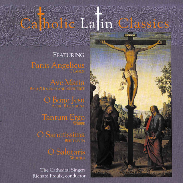 Cover art for Ave Maria, Op. 52 No. 6, D. 839 (Arr. for Soprano, Harp & Chorus) by The Cathedral Singers