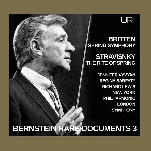 Album cover for Bernstein conducts Stravinsky and Britten by