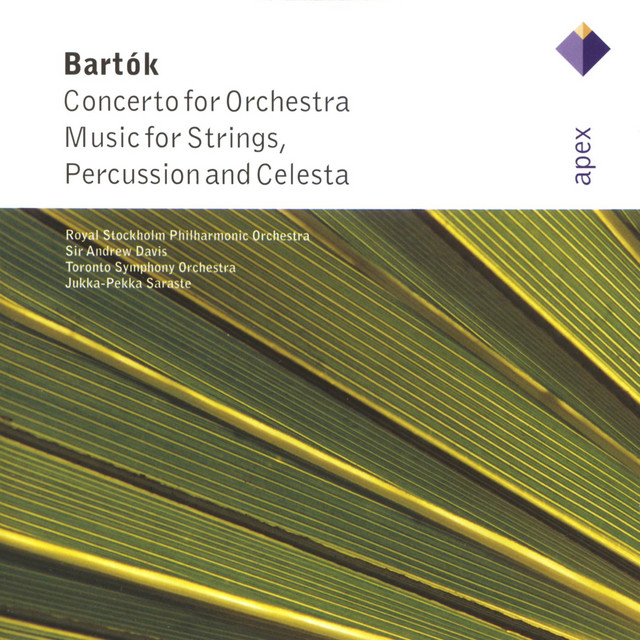 Bartók : Concerto for Orchestra Sz 116; Music for Strings, Percussion and Celesta