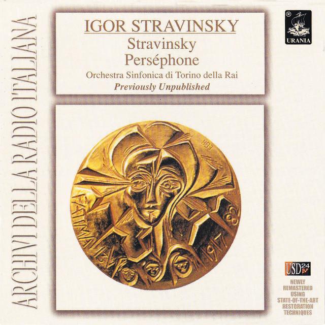 Stravinsky Conducts Stravinsky: Perséphone