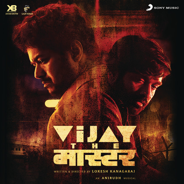 Album cover for Vijay the Master (Original Motion Picture Soundtrack) by Anirudh Ravichander
