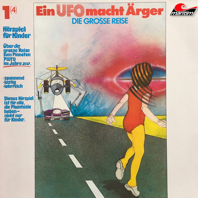 Folge 1: Ein UFO macht Ärger Cover