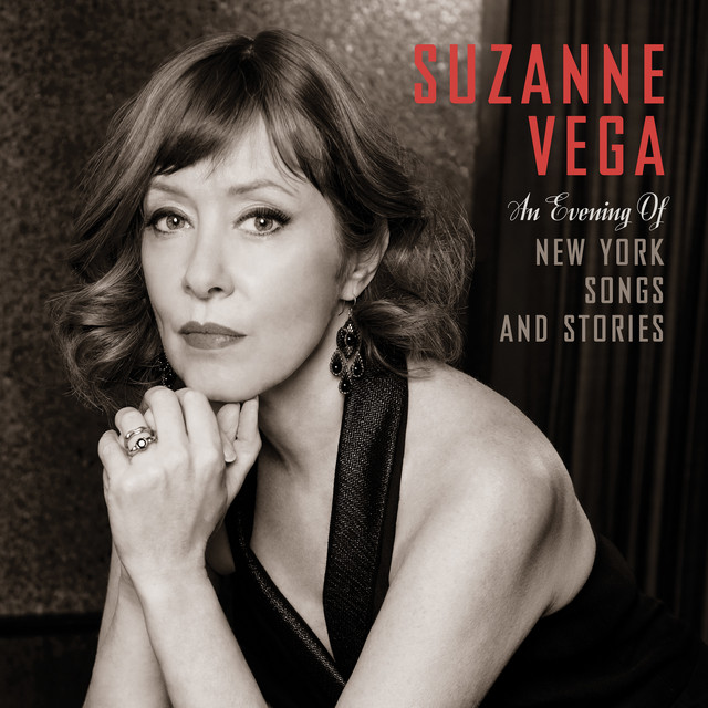 Album cover for An Evening of New York Songs and Stories by Suzanne Vega