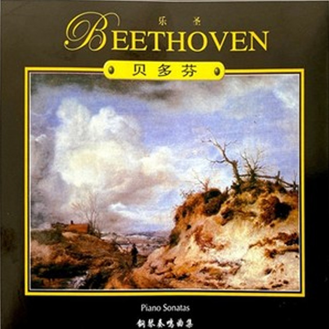 Album cover for 音乐大典—贝多芬 钢琴奏鸣曲 by Ludwig van Beethoven, 天之籁音乐