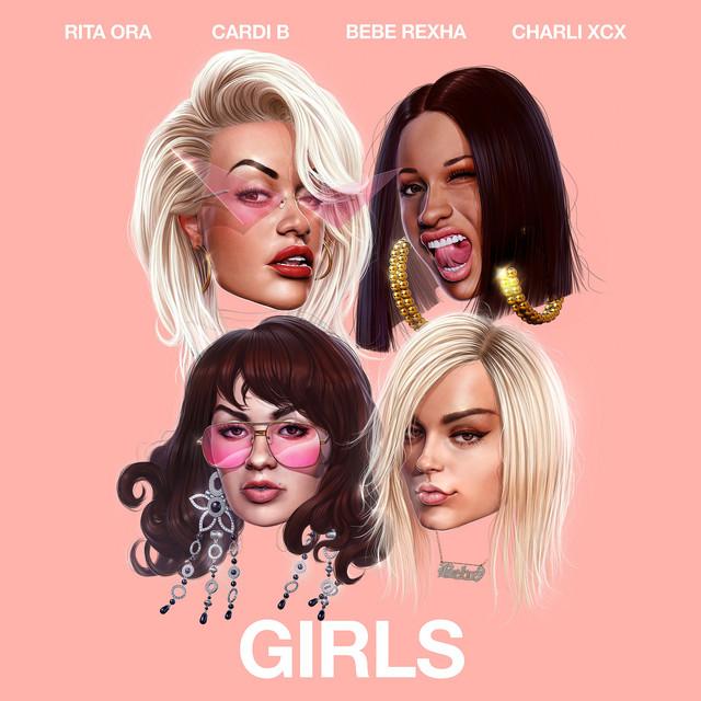Rita Ora Girls (feat. Cardi B, Bebe Rexha & Charli XCX) acapella