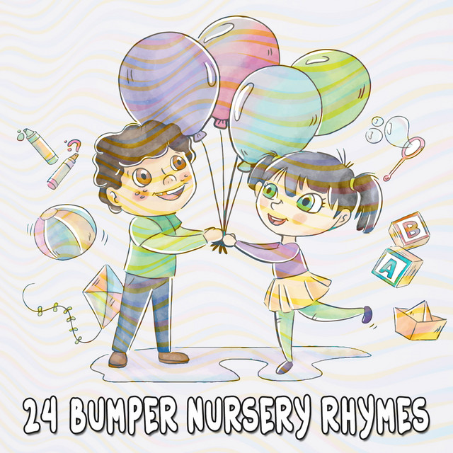 Album cover for 24 Bumper Nursery Rhymes by The Playtime Allstars