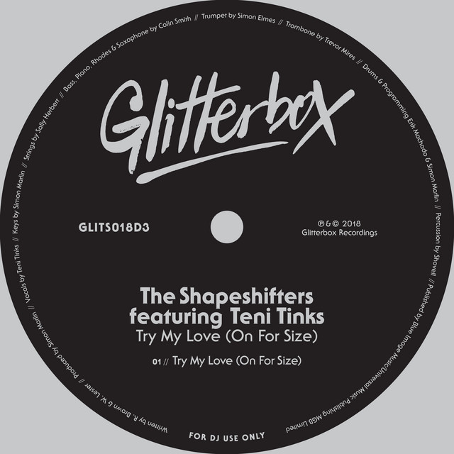 Try my love (on for size) · Shapeshifters ft. Teni Tinks
