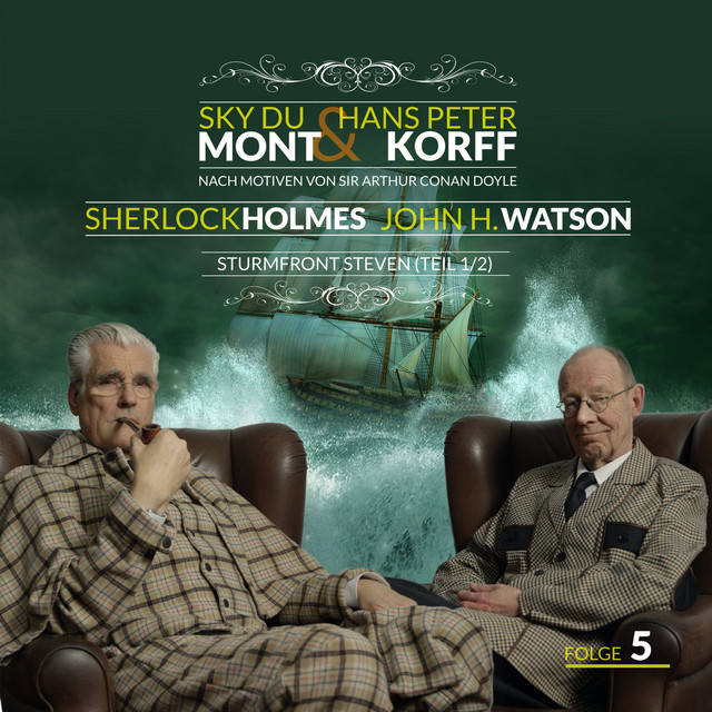 Sherlock Holmes und Dr. Watson Teil 5 - Sturmfront Steven (Teil 1von 2) Cover
