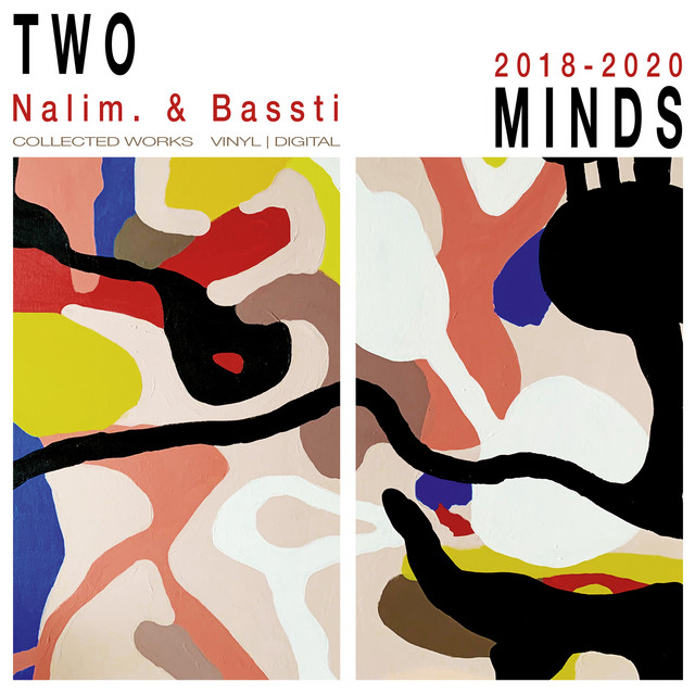 Album cover for Two Minds by Bassti, Nalim