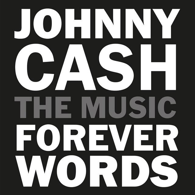 Album cover art: Ira Dean - Johnny Cash: Forever Words Expanded