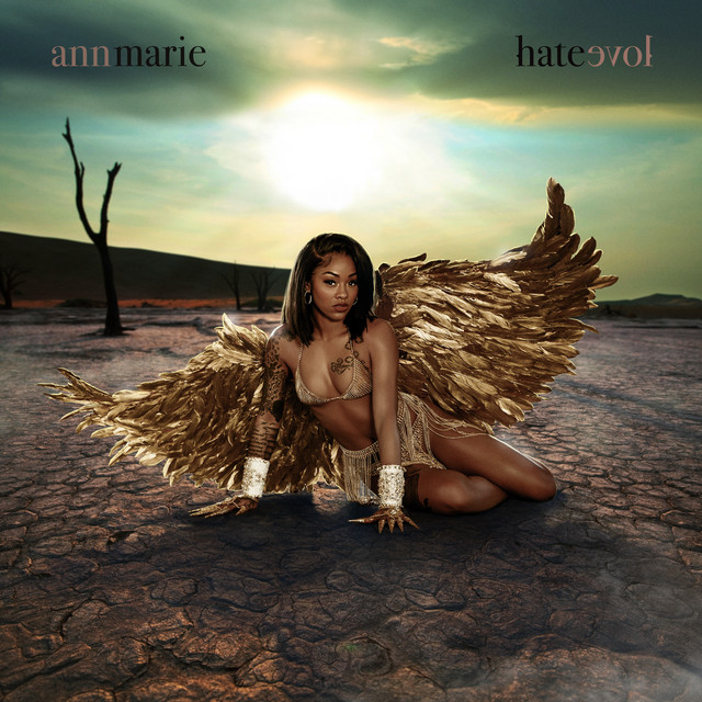 Album cover for Hate Love by Ann Marie