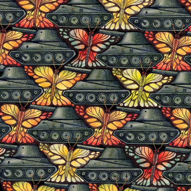 Бабочки и танки