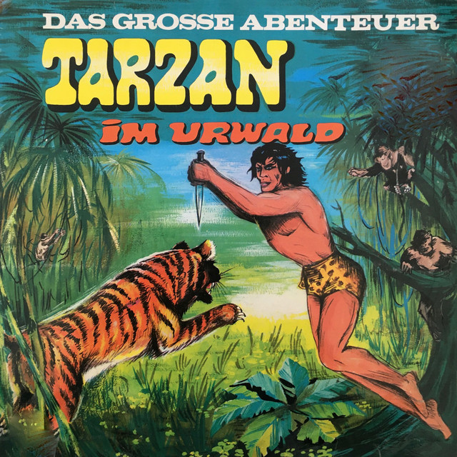 Folge 1: Tarzan im Urwald Cover