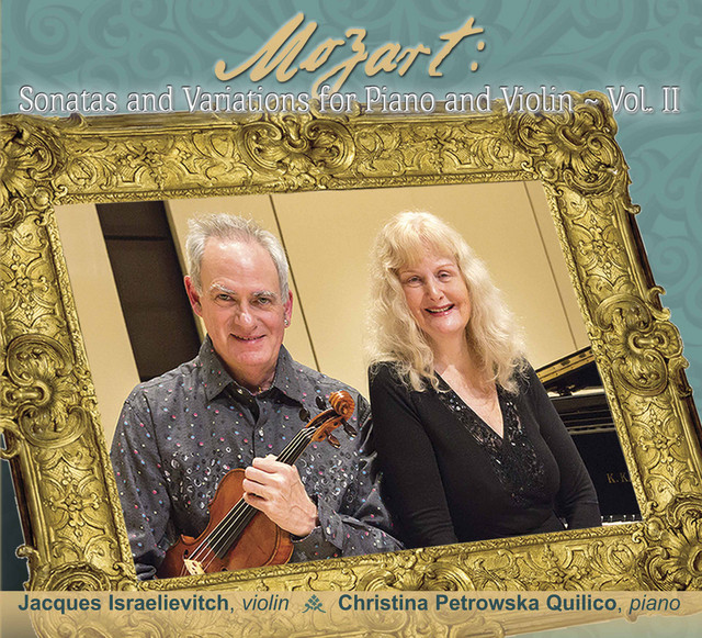 Mozart: Sonatas and Variations for Piano and Violin, Vol. 2