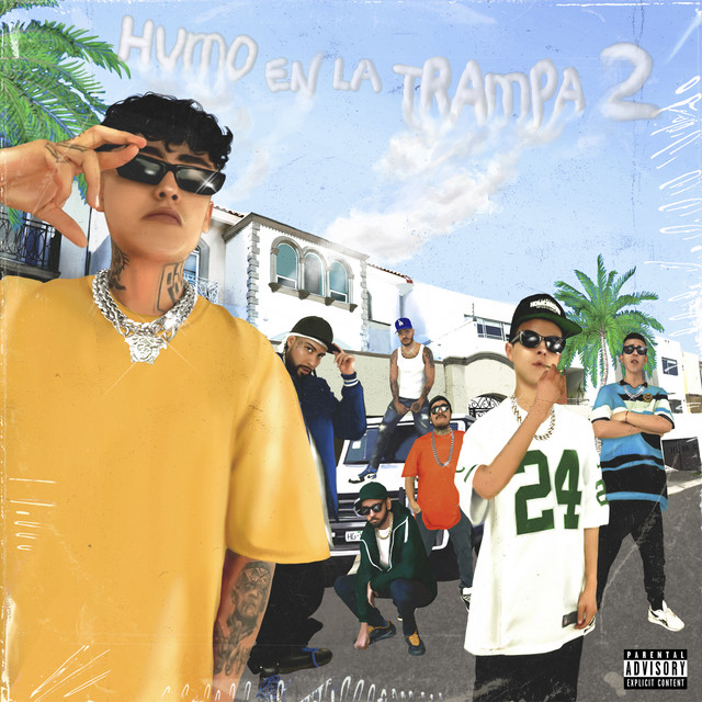 Album cover for Humo en la Trampa 2 (Bonus Edition) by Aleman