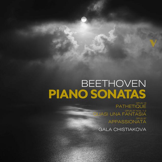 Album cover for Beethoven: Piano Sonatas, Opp. 13, 27 & 57 by Ludwig van Beethoven, Gala Chistiakova